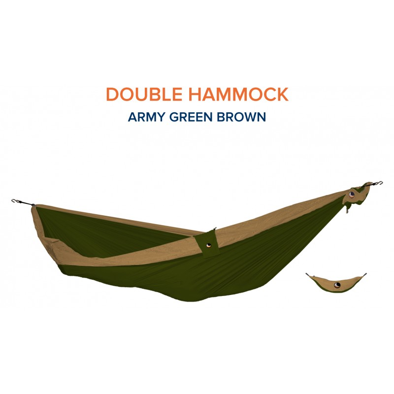 HAMMOCK Army Green - Brown