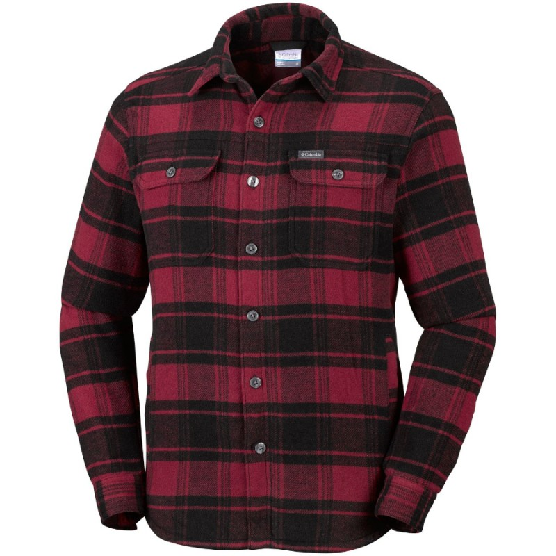 Red element plaid