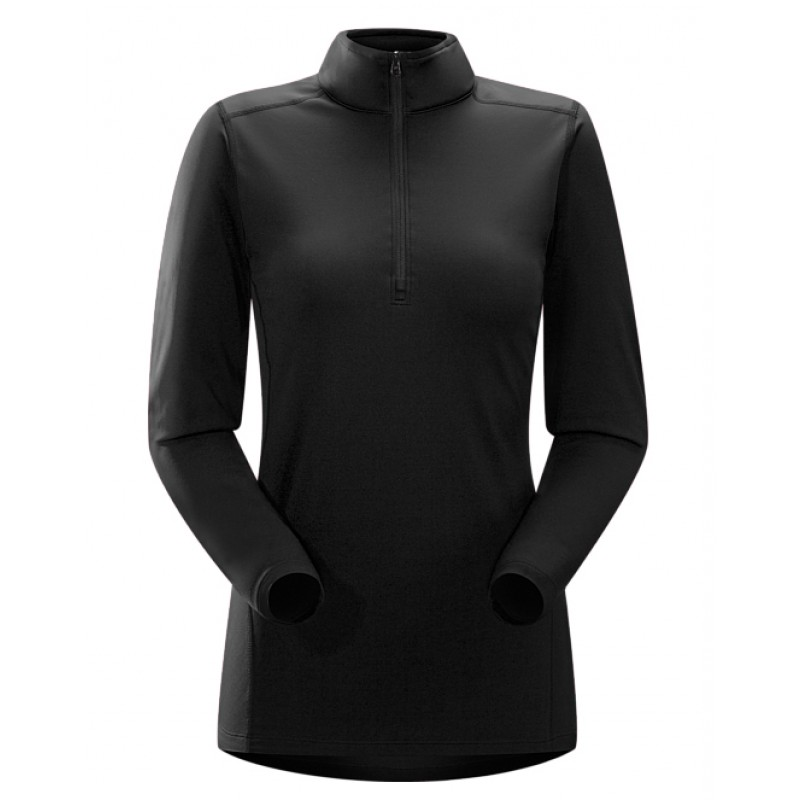 11255 PHASE AR ZIP NECK LS WOMEN